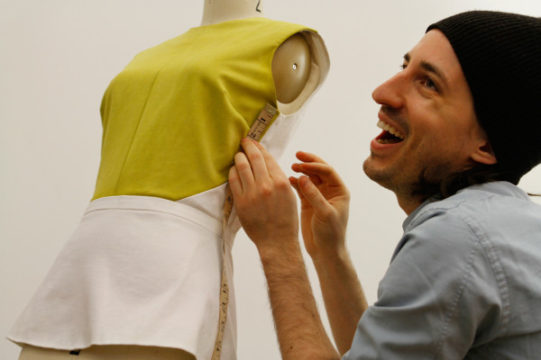 "Still, Vosovic tells NPR, a modern lady would not need a maid to help her dress. He says his philosophy when designing clothes for the modern woman is ""zip and go."""