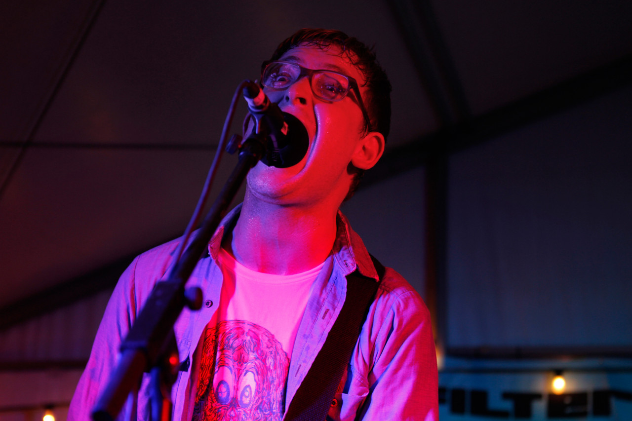 METZ performs at the Filter showcase at Bar 96 during South By Southwest in Austin, Texas on March 15, 2013.