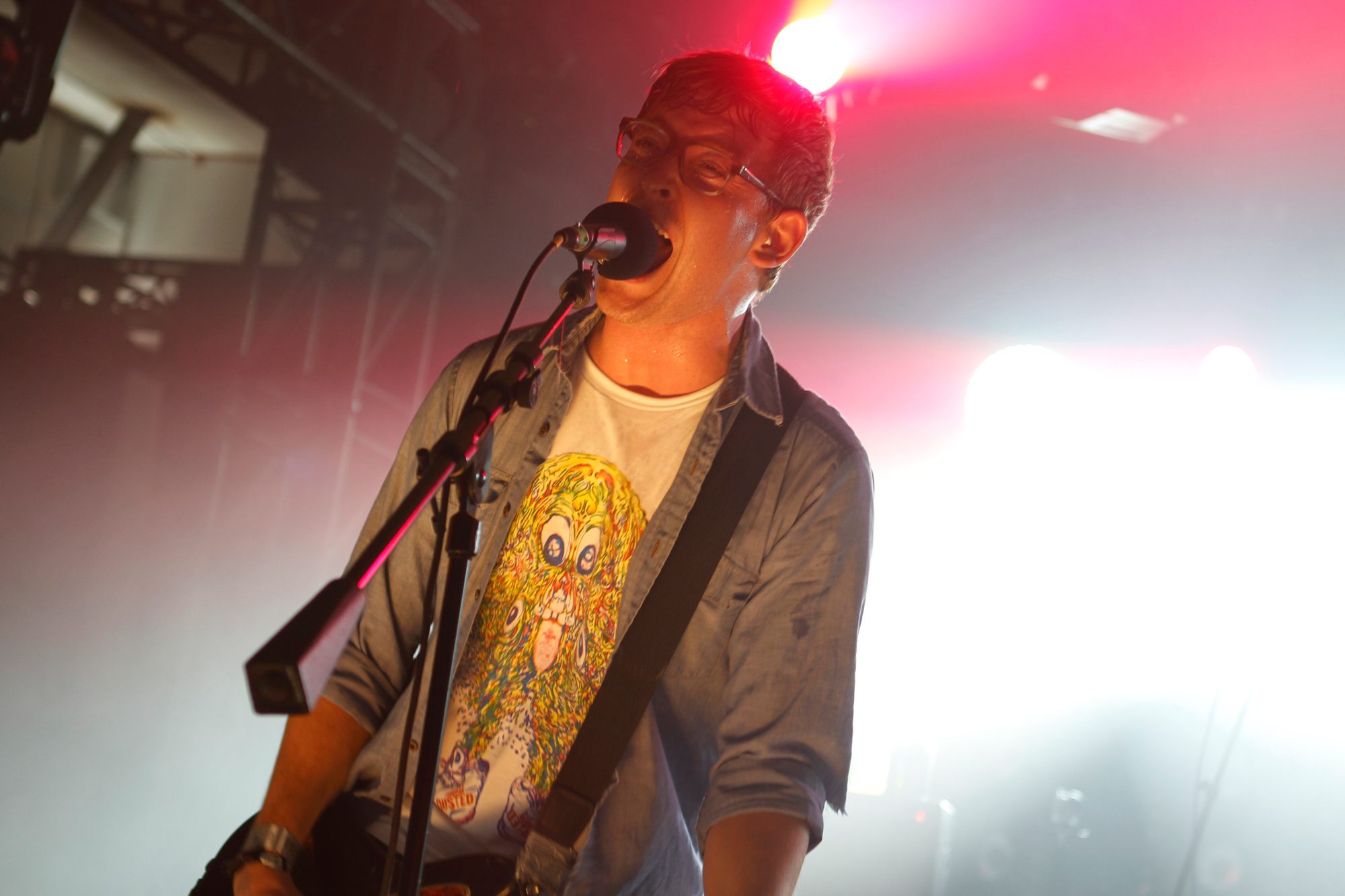 METZ performs at the Hype Hotel during South By Southwest in Austin, Texas on March 15, 2013.