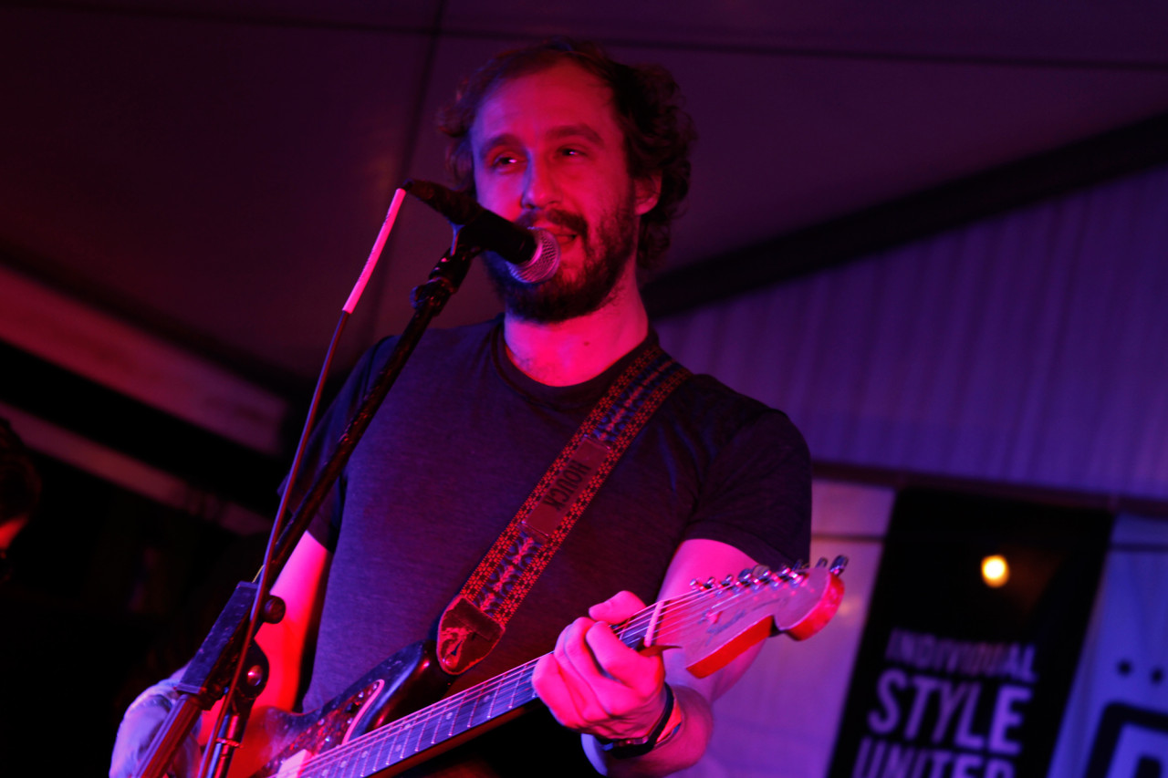 Phosphorescent performs at the Filter showcase at Bar 96 during South By Southwest in Austin, Texas on March 15, 2013.