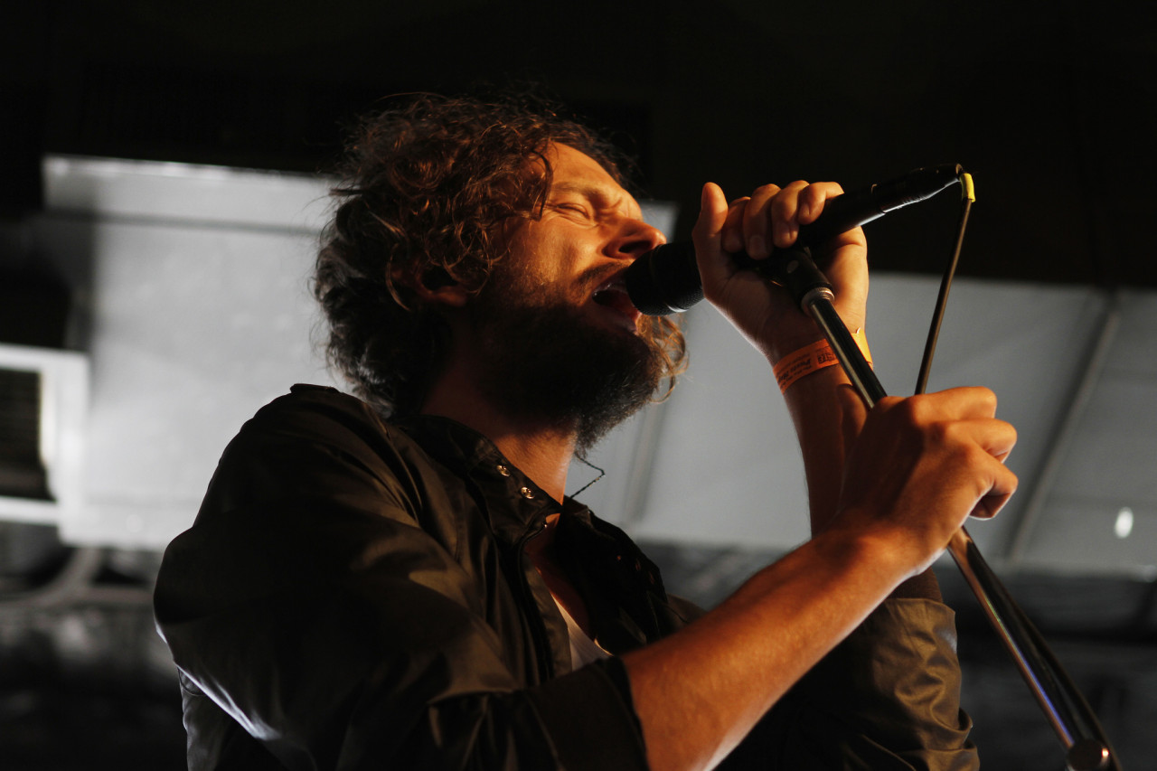 Apparat performs at the Paste Day Party at The Stage On Sixth during South By Southwest in Austin, Texas on March 14, 2012.