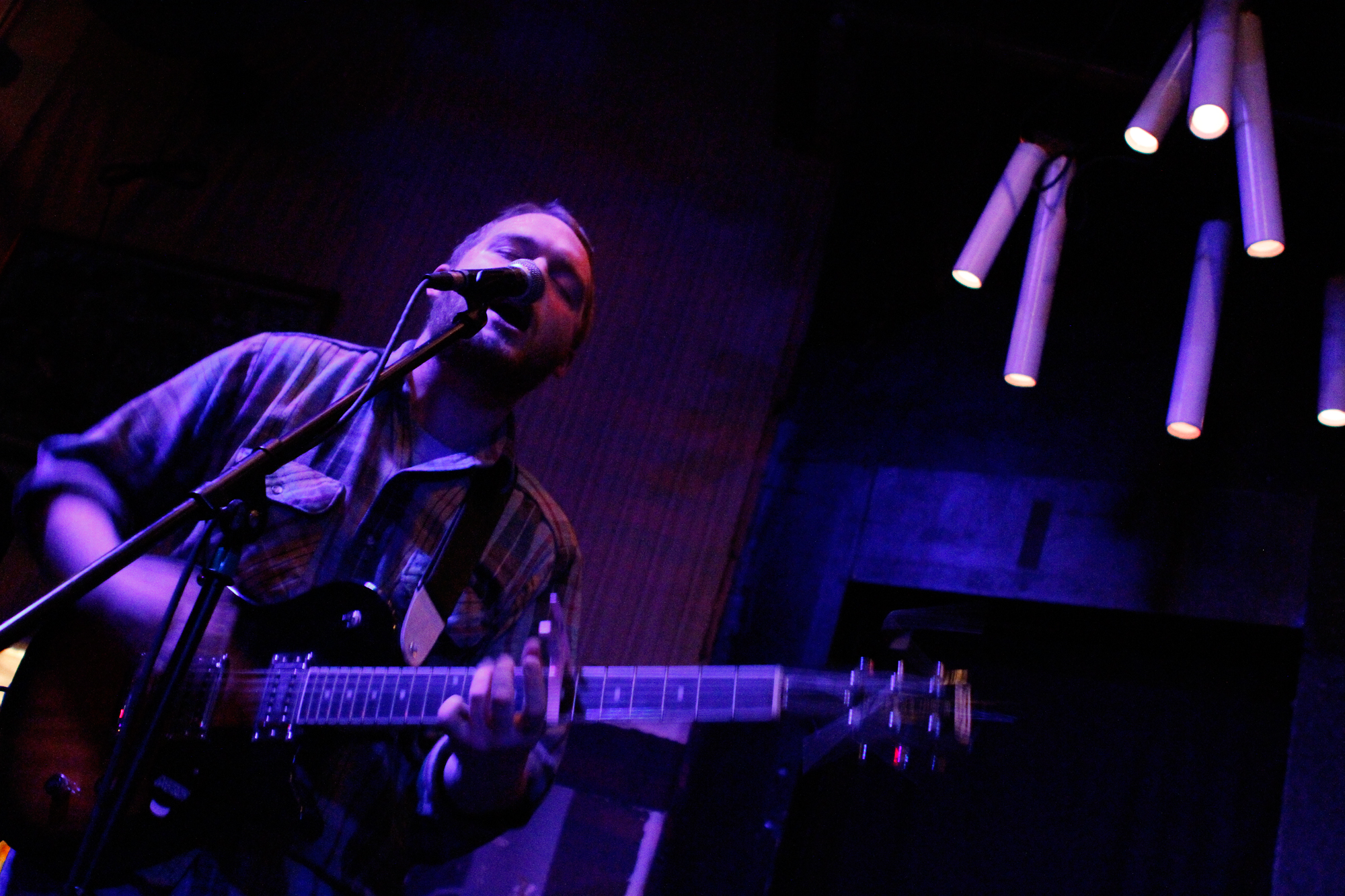 Radiator Hospital plays Glasslands in Brooklyn, NY on Jan. 6, 2014.