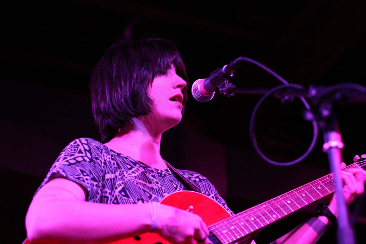 Sharon Van Etten performs at The Red Palace in Washington, D.C. on Apr. 17, 2011.