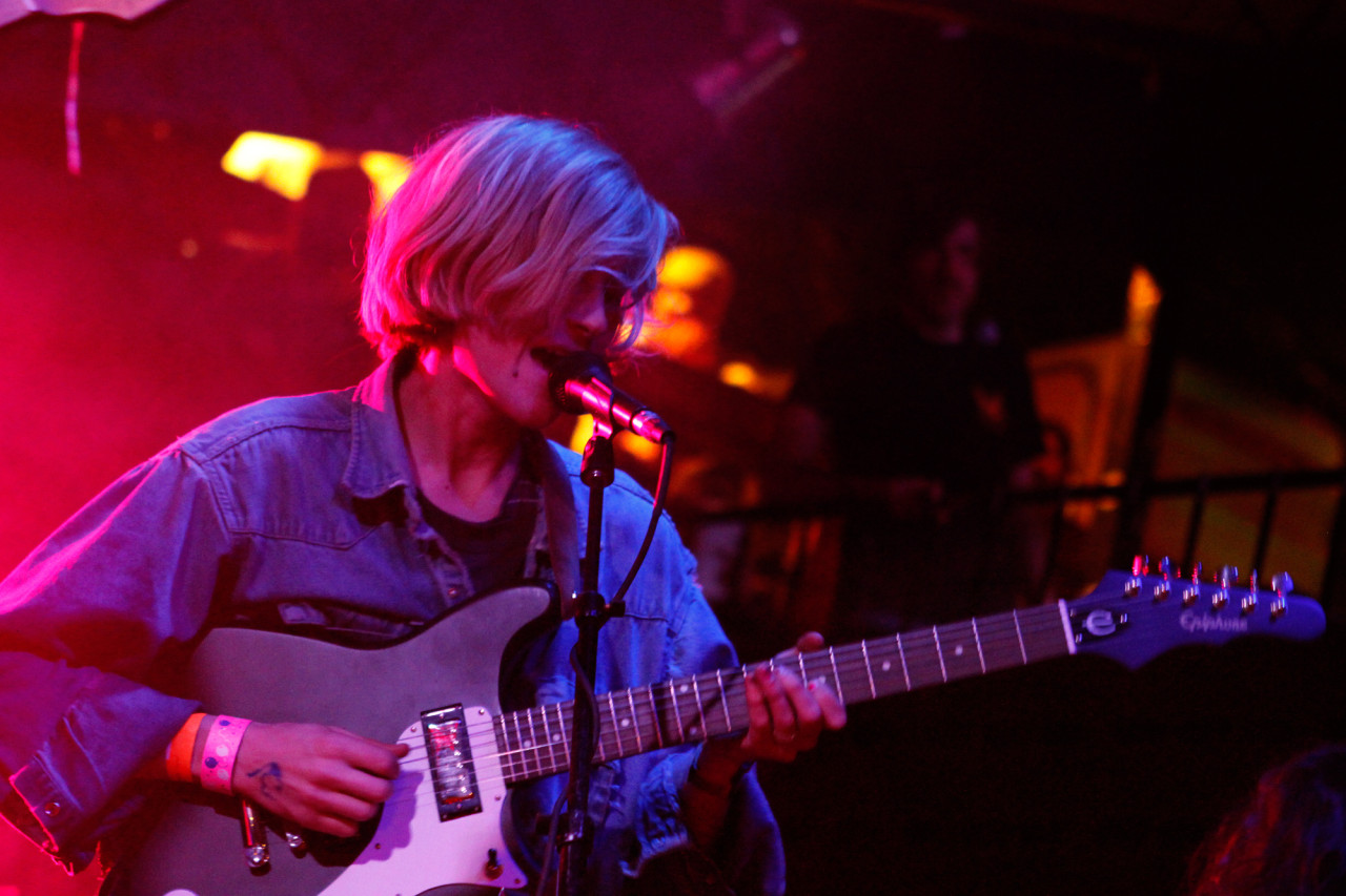 DIIV performs at the Pitchfork showcase at The Mohawk during South By Southwest in Austin, Texas on March 12, 2013.