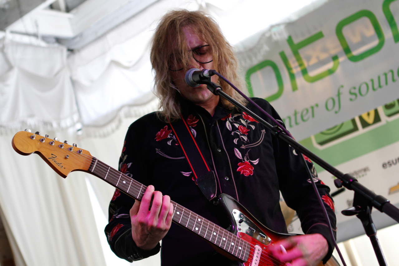 The Besnard Lakes performs at Swan Dive during South By Southwest in Austin, Texas on March 13, 2013.