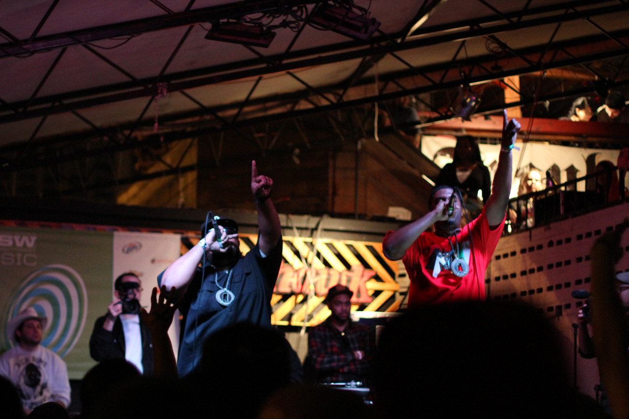 Big K.R.I.T. performs at The Mohawk during South By Southwest in Austin, Texas on March 16, 2011.