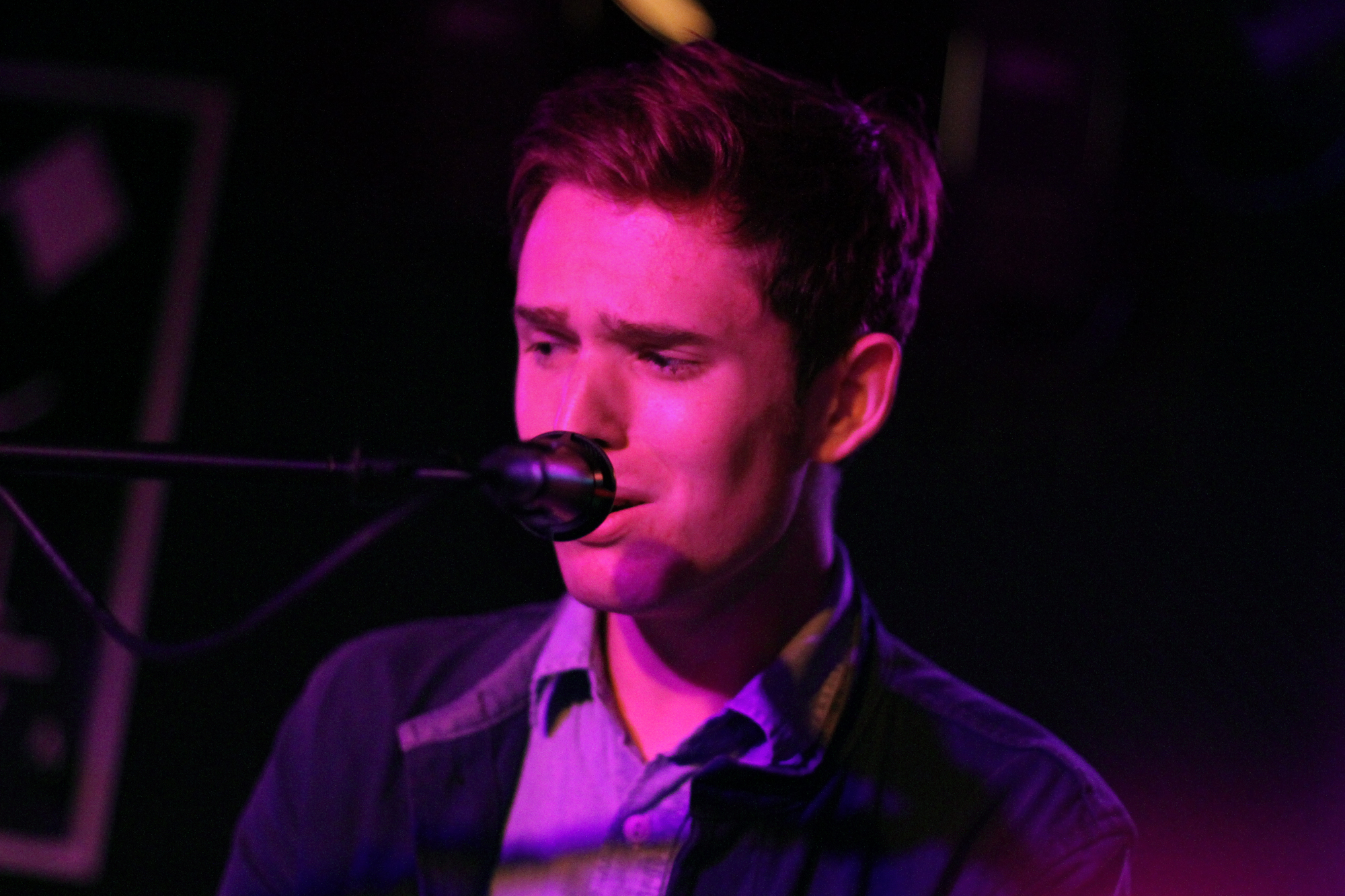 James Blake performs at Rock and Roll Hotel in Washington, D.C. on May 8, 2011.