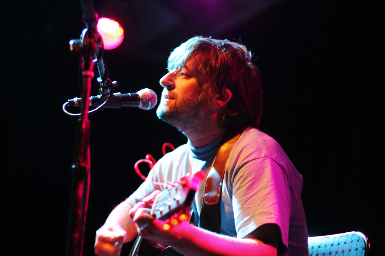 King Creosote and Jon Hopkins perform at Jammin' Java in Vienna, Va. on July 15, 2011.