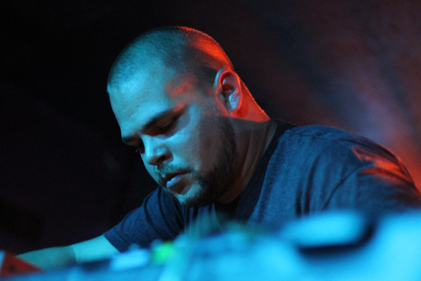 Com Truise performs at Rock and Roll Hotel in Washington, D.C. on Sept. 15, 2011.