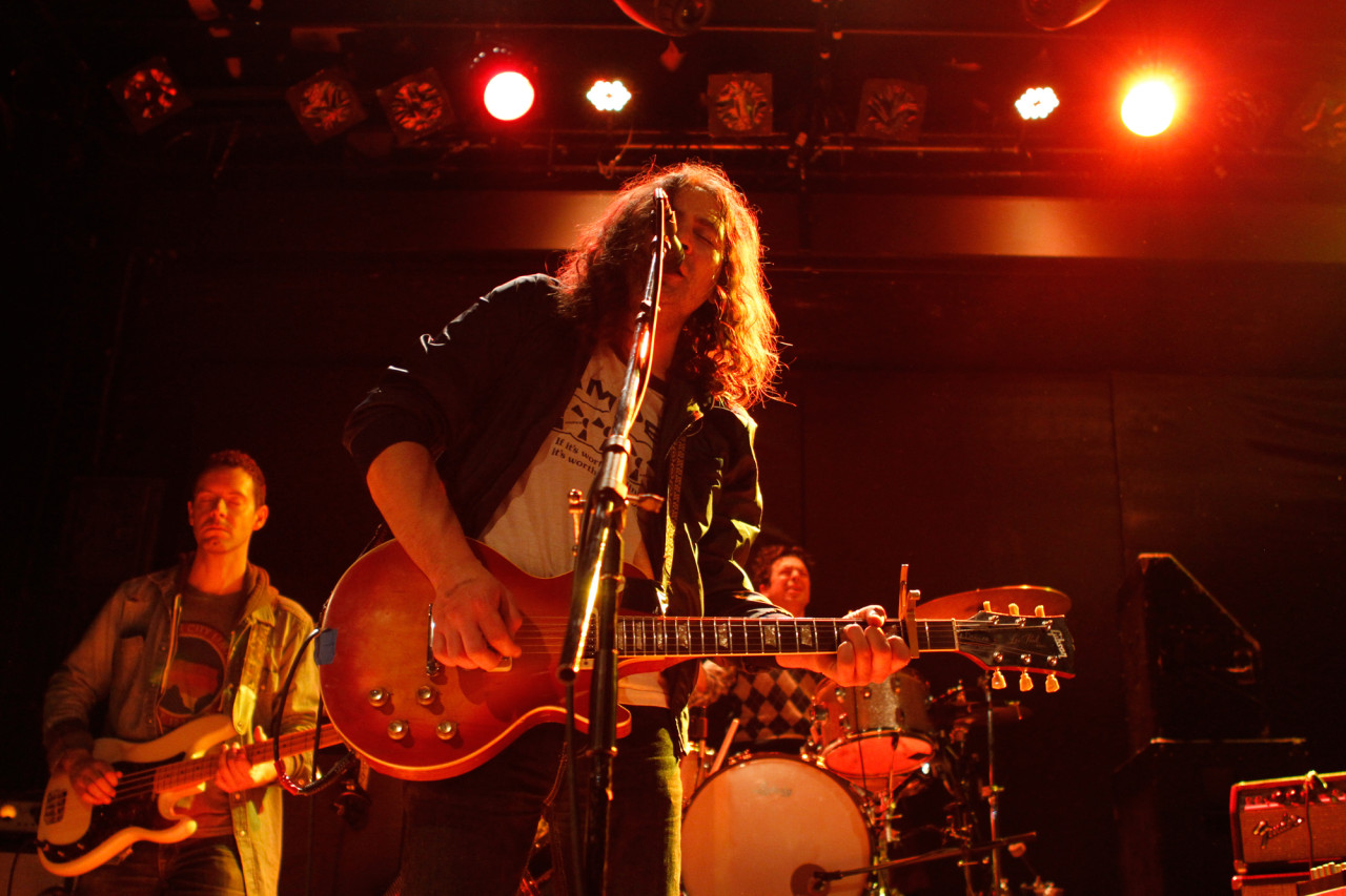 The War On Drugs plays at Bowery Ballroom in New York, NY on March 19, 2014.