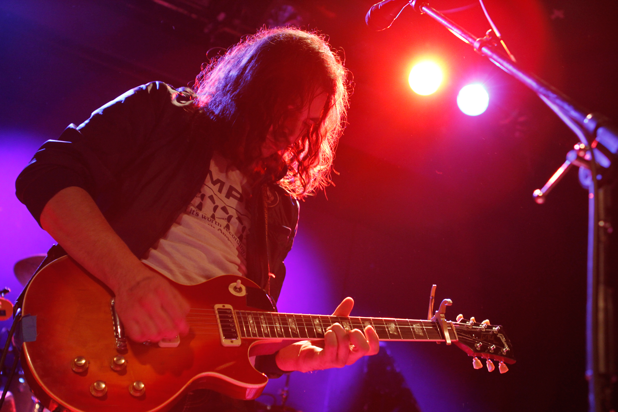 The War On Drugs plays at Bowery Ballroom in New York, NY on March 19, 2014. (© Michael Katzif – Do not use or republish without prior consent.)