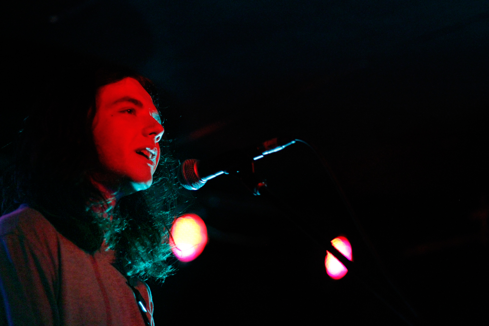The Wytches plays at Mercury Lounge in New York, NY on July 24, 2014.
