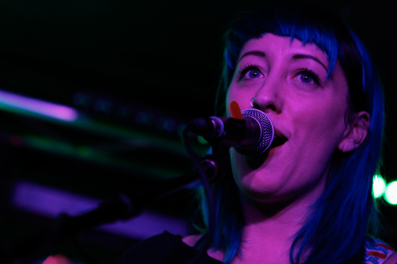 Cayetana plays at Baby's All Right in Brooklyn, NY on Jan 23, 2015.