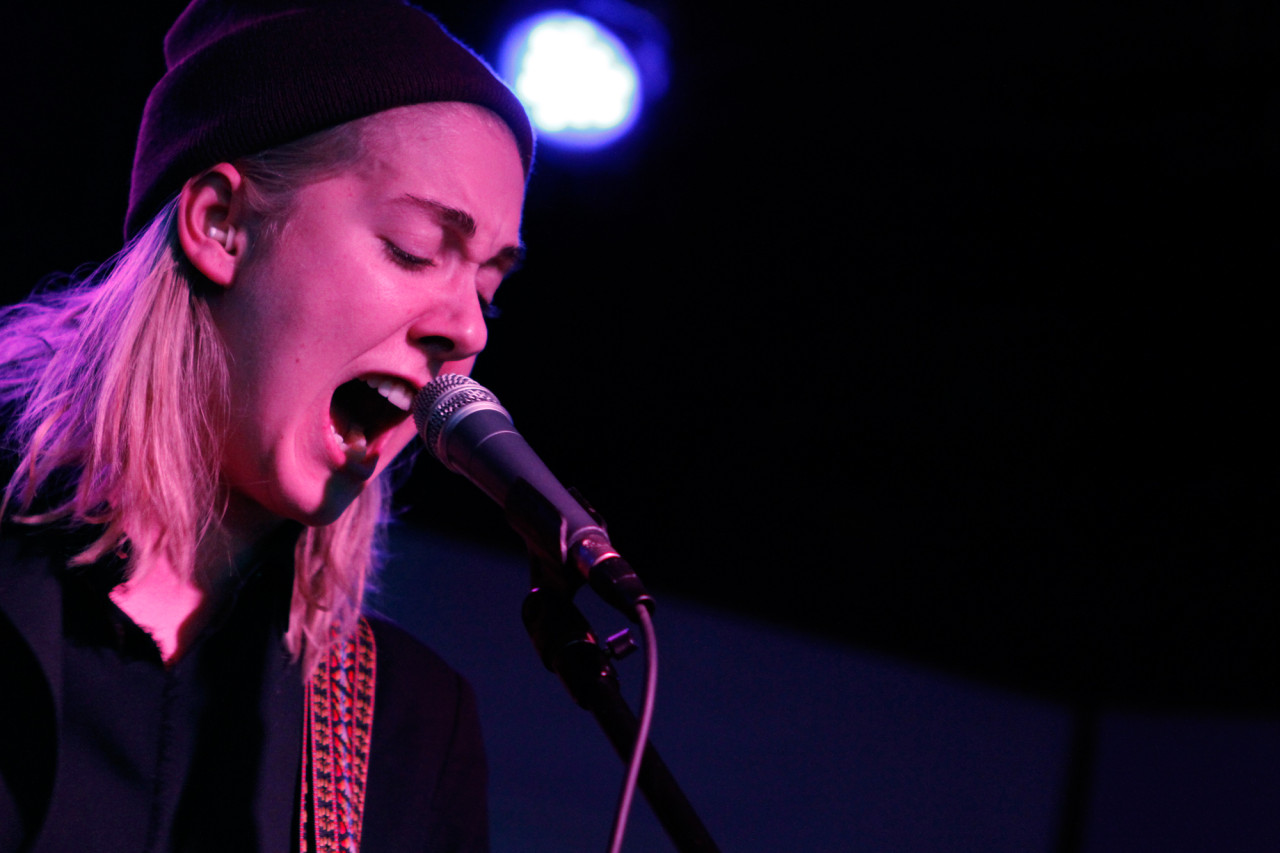 Torres plays at Brooklyn Night Bazaar in Williamsburg, Brooklyn NY on January 30, 2015.