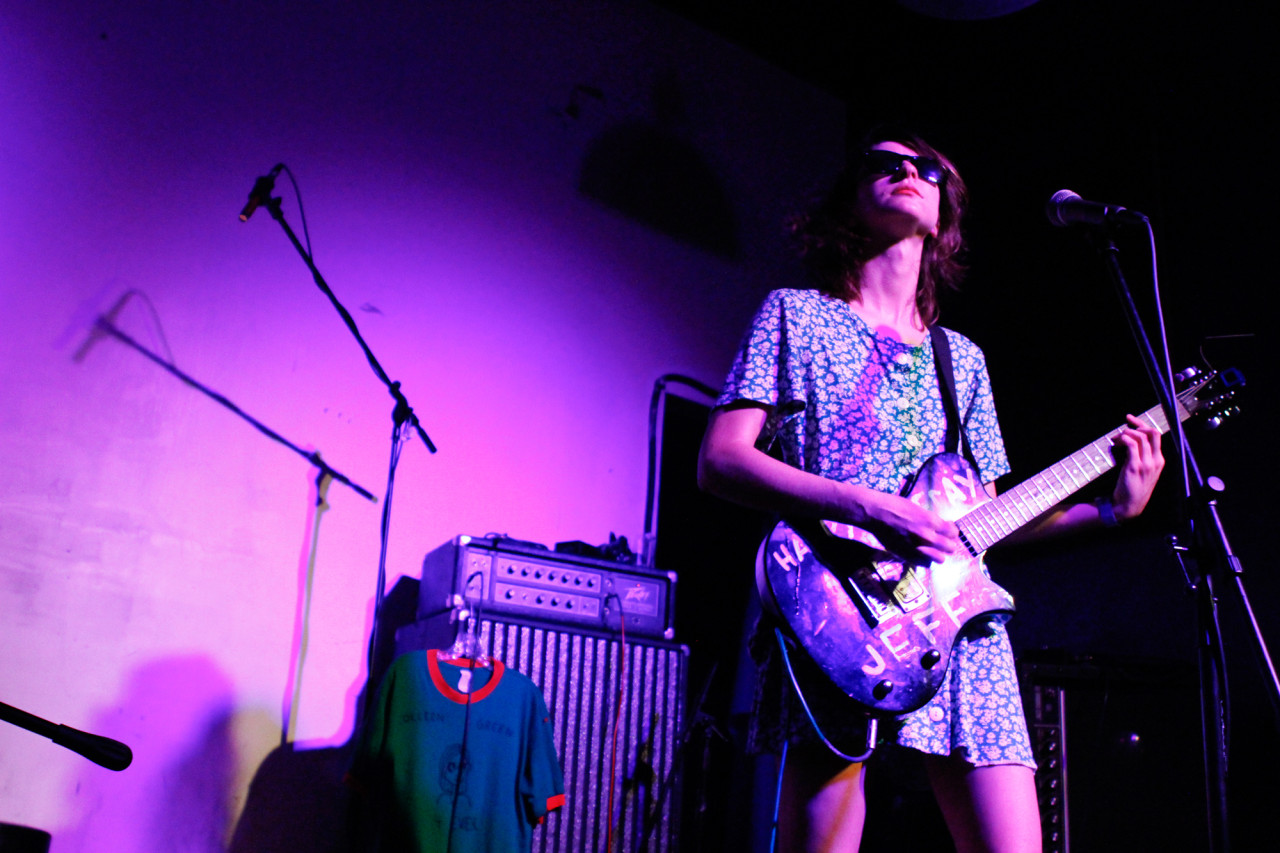 Colleen Green plays at Palisades in Brooklyn, NY on Aug. 23, 2015. (© Michael Katzif - Do not use or republish without prior consent.)
