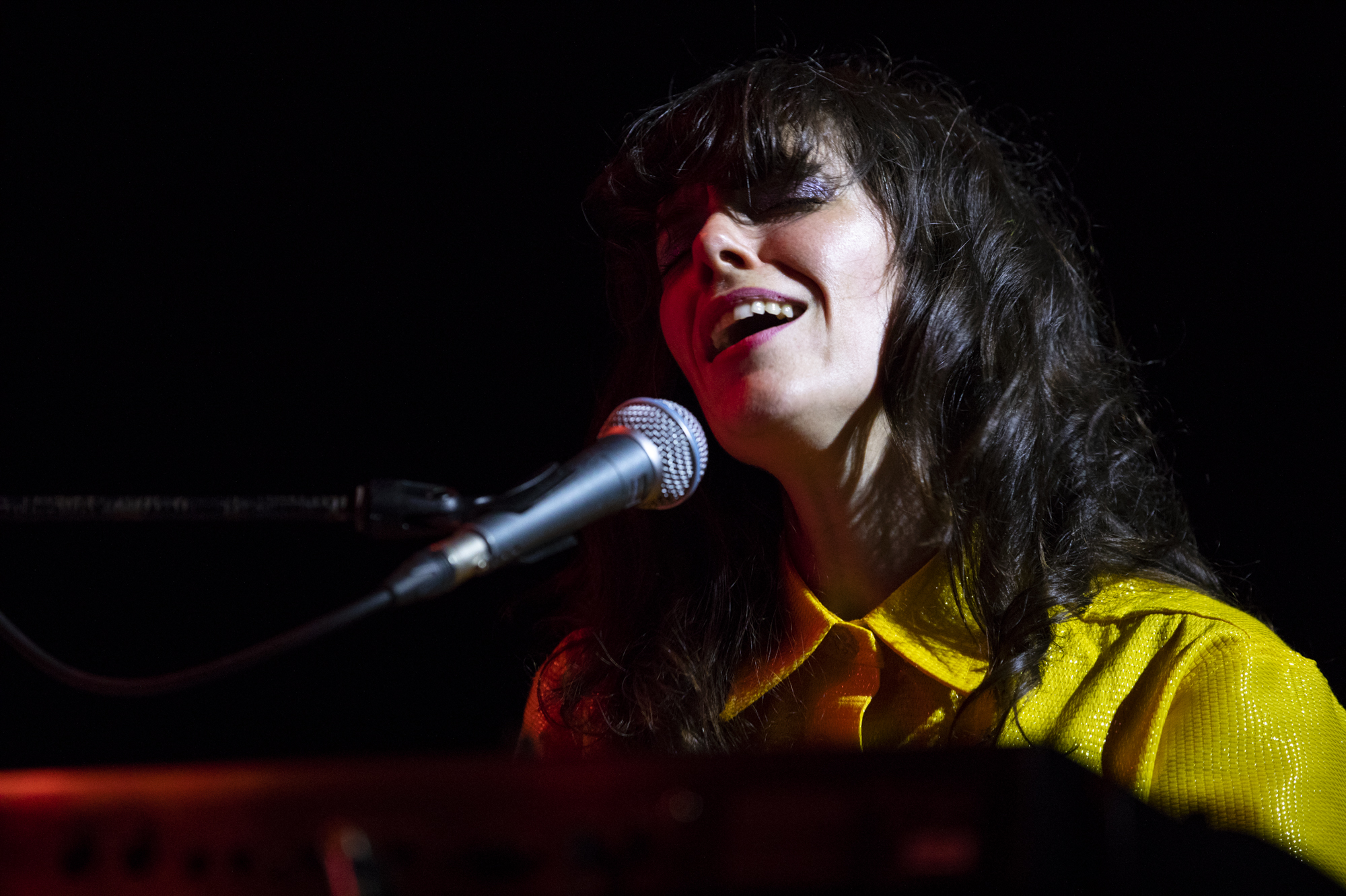 Natalie Prass plays at Rough Trade in Williamsburg, Brooklyn, New York on June 1, 2018. (© Michael Katzif - Do not use or republish without prior consent.)